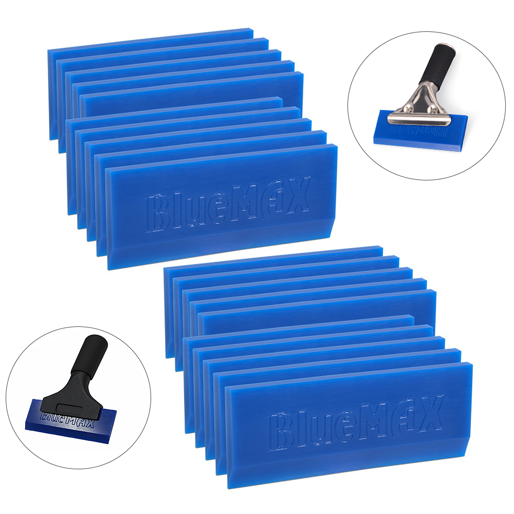 EHDIS Squeegee BLUEMAX Rubber Strip Spare Blades Window Tints Vinyl Car Wrapping Tool Water Ice Scraper Household Cleaning Tool(China)