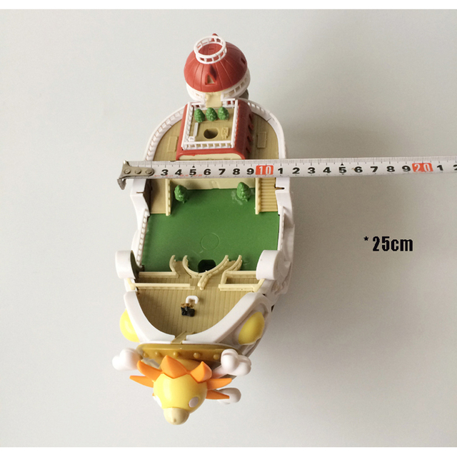 Big Anime Figure ONE PIECE Ship Thousand Sunny Going Merry Pirate Boat Puzzle Assemble Model Toy Building Blocks 3