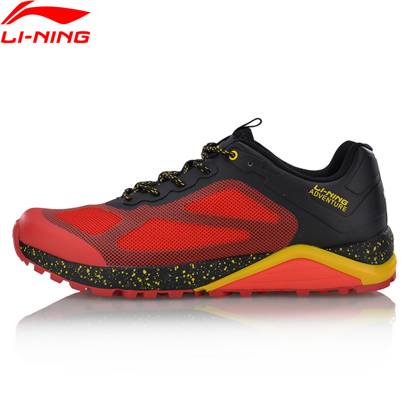 Li-Ning Men Revenant ITF Professional Trail Running Shoes Cushion Sneakers Breathable LiNing Sports Shoes ARDM007 XYP560 li ning brand men basketball shoes sonicv series professional camouflage sneakers support lining breathable sports shoes abam019