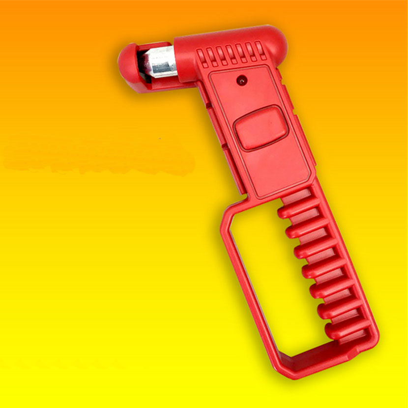 Car Bus Safety Red Hammer Life Saving Escape Emergency Hammer With Long Handle Seat Belt Cutter Window Glass Breaker Rescue Tool jtc головка торцевая torx 1 4 х e5 jtc 22005