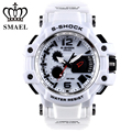 SMAEL Brand White Men Sport Watch LED Digital 30M Waterproof Casual Watch S Shock Male Clock relogios masculino Men Gift WS1509
