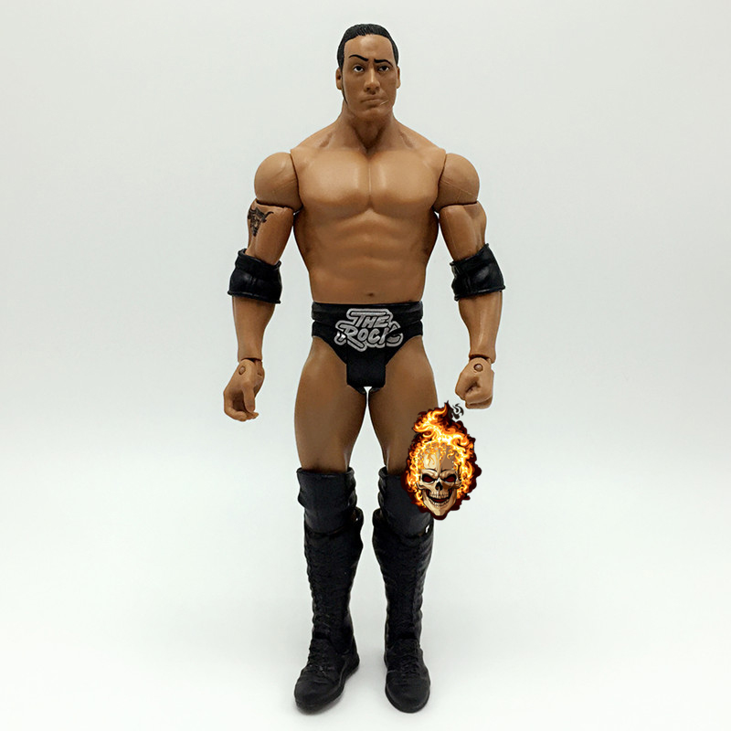 16CM High Quality Classic Toy Super Movable Wrestler occupation wrestling RA The Rock Fighter action figure Toys