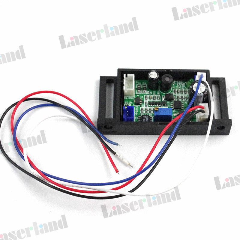 Power Supply Driver For 635nm 638nm Orange/Red Laser Diode TTL 12V 1.2A 50mw-500mw