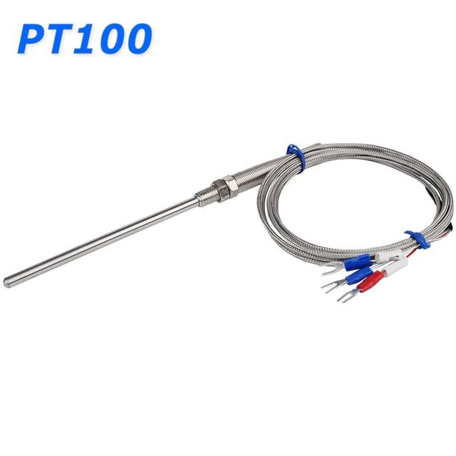 Stainless Steel Shield 10cm Probe Tube RTD PT100