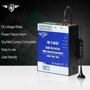 Image 4 - GSM 3G 4G Hücresel RTU SMS Uzaktan Kumanda Alarm Sistemi için yakıt Deposu Pompası Otomasyon İzleme Sistemi S130