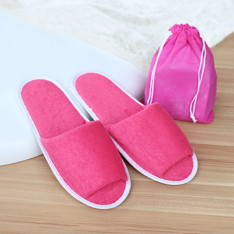 2017 casual simple design women hotel travel spa portable for Minimalist house slippers