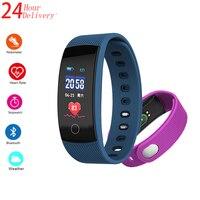 Miguel QS80 fitness bracelet color screen smart bracelet ladies men's sports fitness tracker heart rate monitoring waterproof