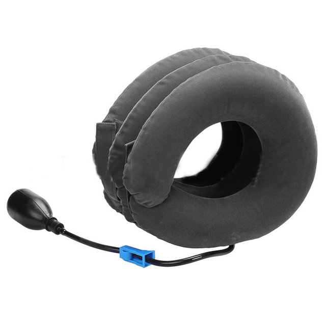Inflatable collar neck cervical ve