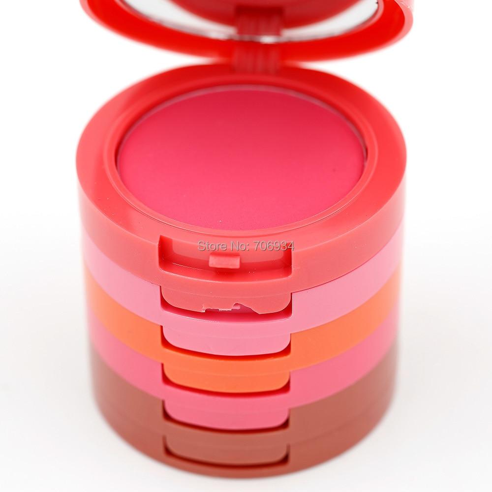 Blush Palette 1pcs 5 Color Blusher Makeup Matte And Graceful Powder Full Size Net 40g M1008
