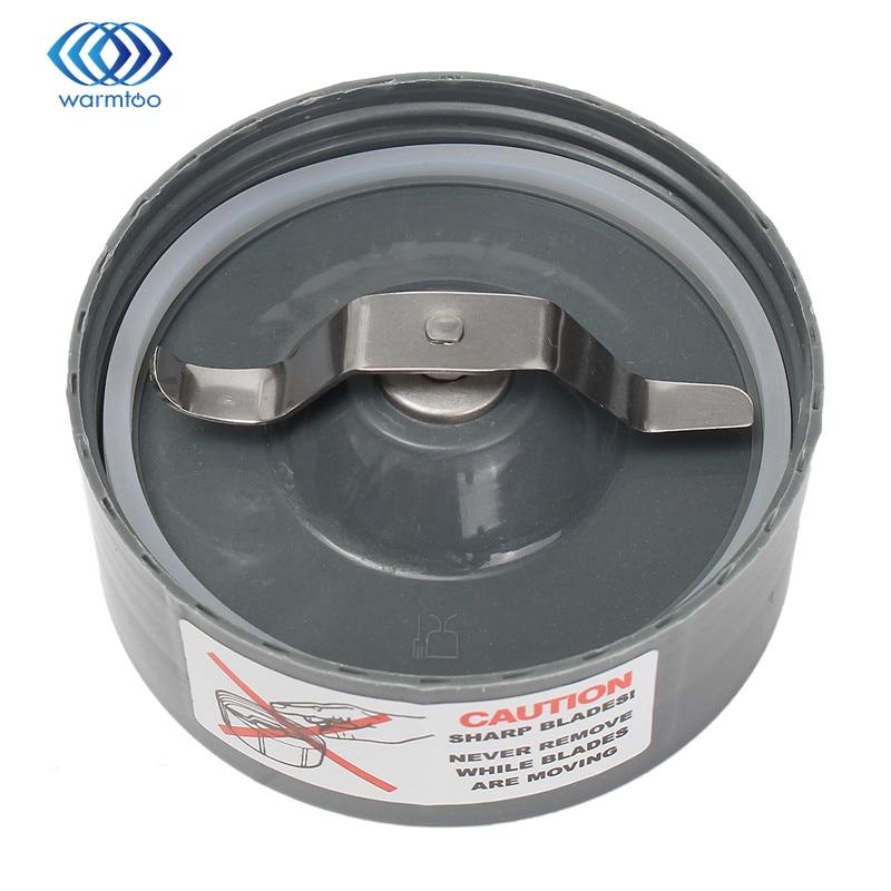 Durable Quality Stainless Steel+Plastic Grey Flat Milling Blade 600w 900w For NutriBullet Nutri Bullet