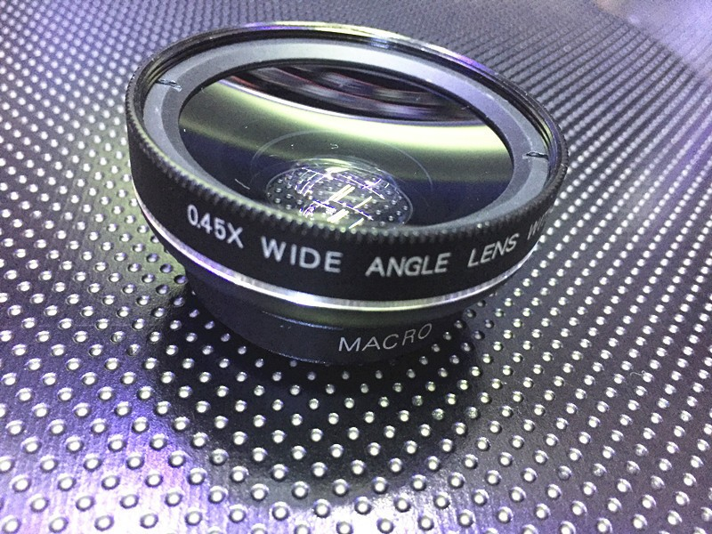 HD 37MM Lens Super 0.45x Wide Angle 12.5x Macro Phone Lenses For iPhone 6 5S 7 Samsung S6 S7 Edge xiaomi redmi 4 Camera lens Kit 5
