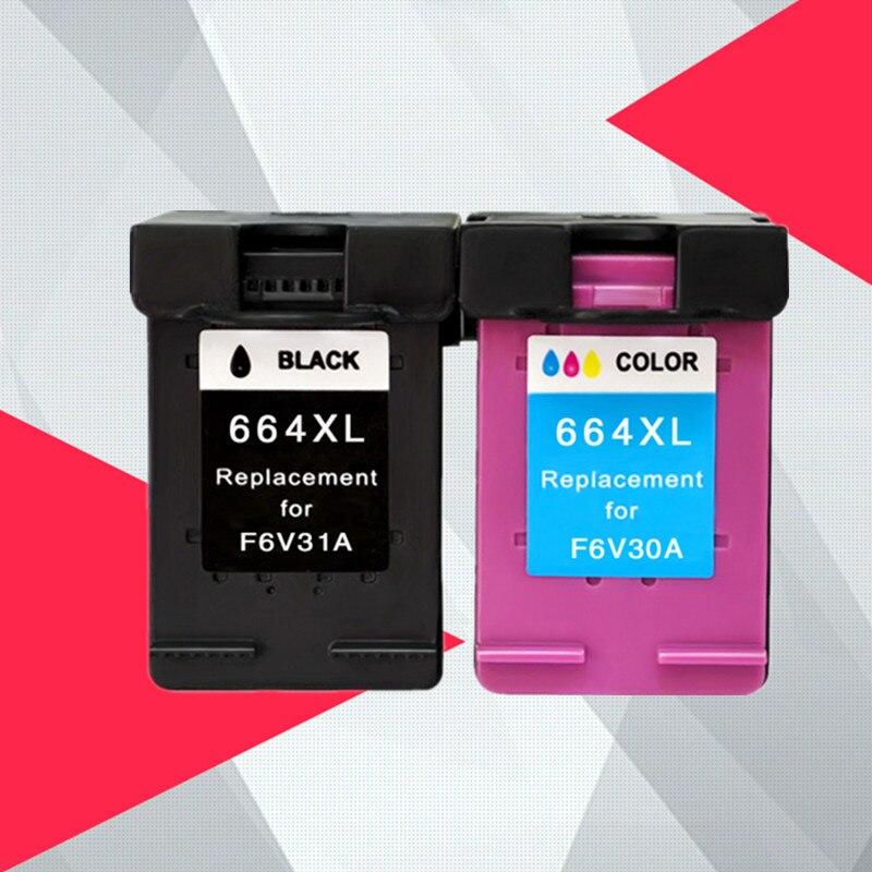 Compatible for HP 664 664XL Ink font b Cartridge b font for HP664 Deskjet 1115 2135