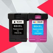 Compatible for HP 664 664XL Ink Cartridge for HP664 Deskjet 1115 2135 3635 2138 3636 3638 4535 4536 4538 4675 4676 4678