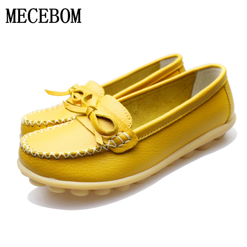 2018 Shoes Woman Leather Women Shoes Moccasins Flats Colors Buckle Loafers Slip On ballet Women's Flat Shoe Plus Sizes 1183W extra large plus sizes 41 42 43 flats wedding lace shoes womens female woman bridal flat heel wedding flats shoes large sizes