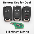 Remote Car Key 315MHz/433Mhz for VAUXHALL OPEL Insignia Astra Zafira Mokka Agila Corsa Meriva Signum Tigra Mando Vectra