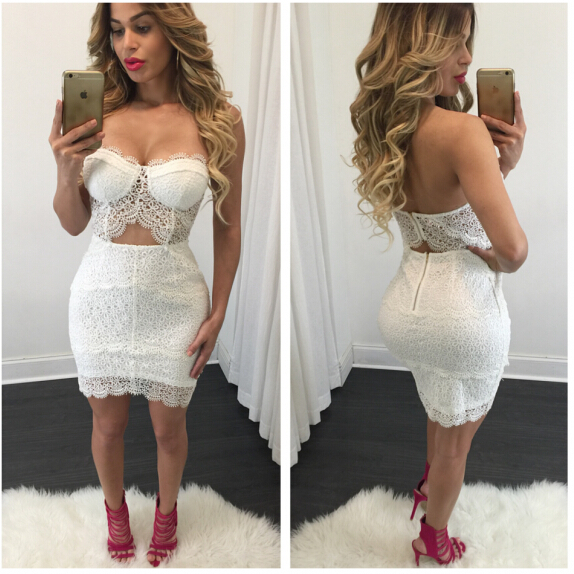 Popular Women White Two Piece Club Outfits-Buy Cheap Women White ...