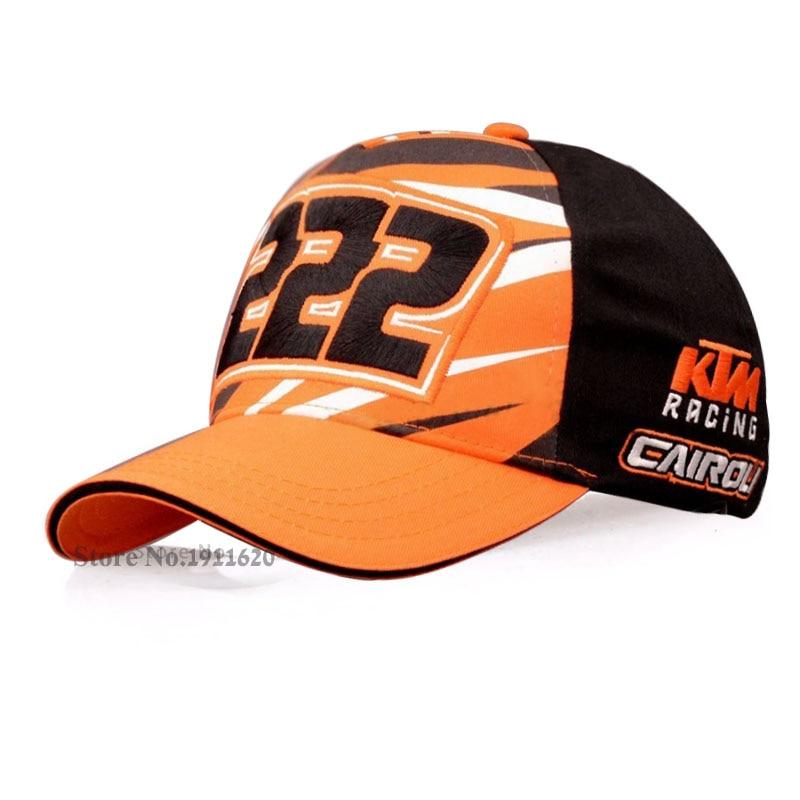 Prix pour 2017New Coton Moto GP Lettres KTM Racing casquettes broderie Casquettes de Baseball Pour Hommes Snapback Golf cap Loisirs chapeaux de Soleil