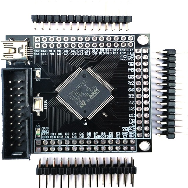 STM32H7 geliştirme kurulu STM32H743VIT6 H750VBT6 minimum sistem kartı çekirdek kurulu adaptör panosu