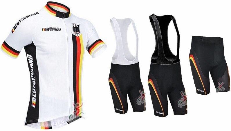 Deutschland Германия 2013 короткий рукав Велоспорт Джерси (bbb) выстрел, езда на велосипеде одежда Костюмы Майо Ropa Ciclismo
