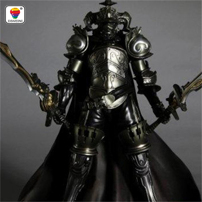 DIWEINI Play Arts Final Fantasy 12 Figure Final Fantasy XII Gabranth Figure PA 27cm PVC Action Figure Doll Toys Kids Gift  new hot 22cm final fantasy gabranth collectors action figure toys christmas gift doll