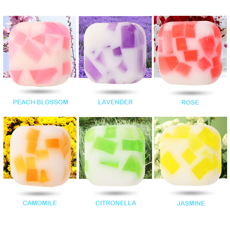 Tsing Handmade Soap 100g Scented Soap Essential Oil Nourishing Brightening Rose Lavender Hand Body Bubble Gift Jasmine Face Soap in Soap from Beauty Health