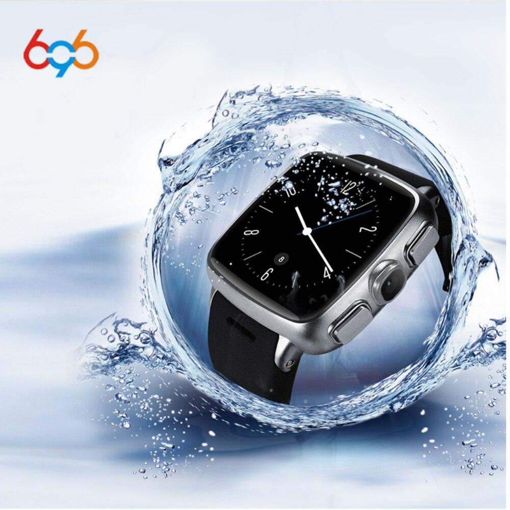 696 Z01 3G Smart Watch IP68 Waterproof MTK6572 GPS WIFI Bluetooth Pedometer Heart Rate Tracker Android and IOS Camera Tracker 3g wcdma pet gps tracker v40 waterproof intelligent wifi anti lost gps wifi electronic fence 3g gps tracker