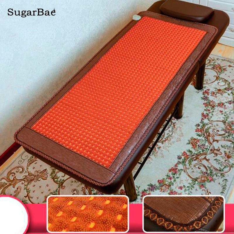 High Quality Korea Nano Ball Mat Thermal Jade Mattress, Tourmaline Mattress, Heating Pad Mat Medical Germanium Health Mat белые балетки купить онлайн украина