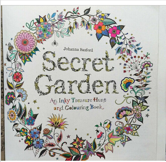 Secret Garden An Inky Berburu Harta Karun Dan Mewarnai Buku Untuk Anak Anak Dewasa
