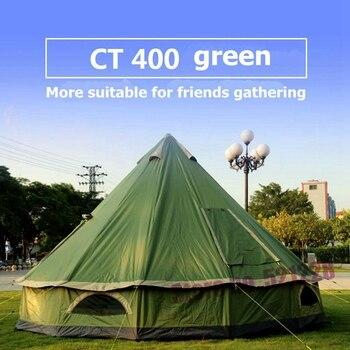 2019 riesige 5 6 8 Person Mongolei Glamming Jurte Familie Sun Shelter Reise Markise Wandern Baldachin Strand Relief Outdoor Camping zelt