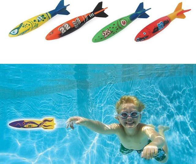 Juego De Entretenimiento De Agua Deportes Buceo Infantil Torpedos