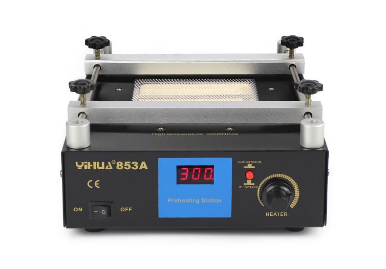 ФОТО YIHUA 853A Lead Free Preheat station BGA rework For SMT Motherboard Rework Repair