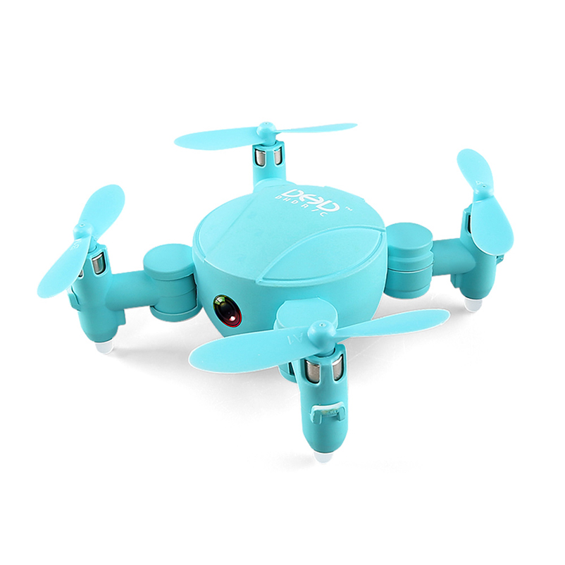 New Hot JJRC DHD D4 Mini Pocket Drone WIFI FPV With 720P Camera Altitude Mode Foldable RC Drone Quadcopter Accessories hot aerial rc h37 quadcoptertracker foldable mini rc selfie drone with wifi fpv 720p camera g sensor altitude hold