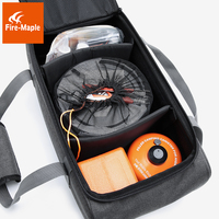 fire maple picnic basket outdoor camping gas stove, gas canister, pot carry bag storage sack (only a bag)