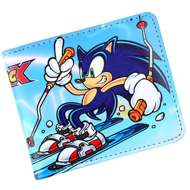 Game Figures Sonic The Hedgehog Wallet Id Credit Card Holder Coin Pocket For Boy Girl Coin Pocket Pocket For Coinswallet Coin Pocket Aliexpress