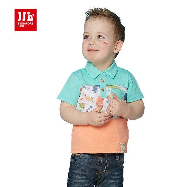Мальчиков, рубашки поло, с коротким рукавом размер 1-3 т детские футболки лето детская одежда детская одежда розничная китай бесплатная доставка