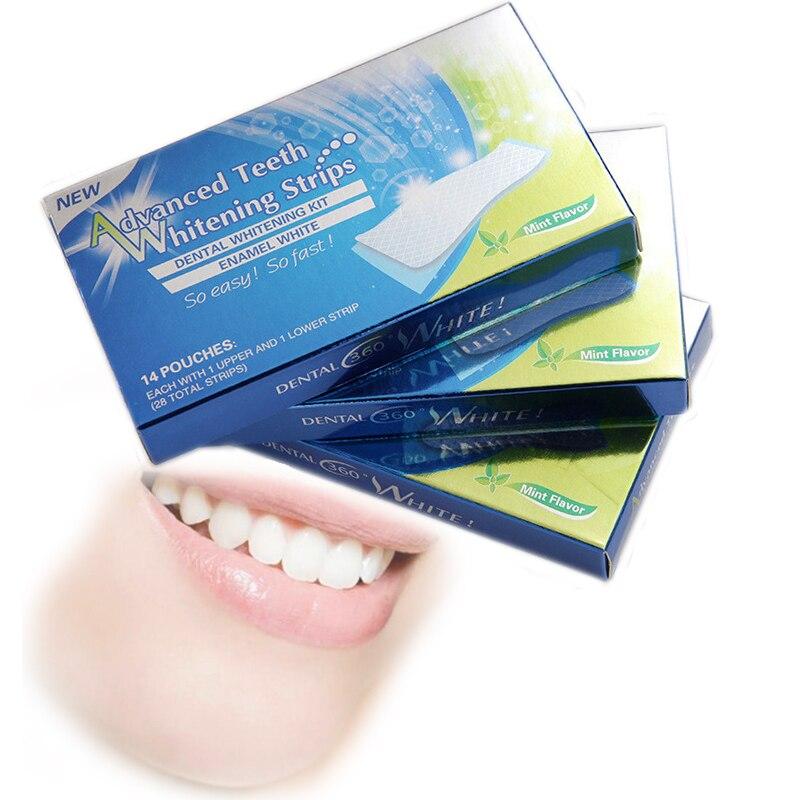 Dentes Profissionais Que Whitening Tira Dente Branqueamento Tiras De