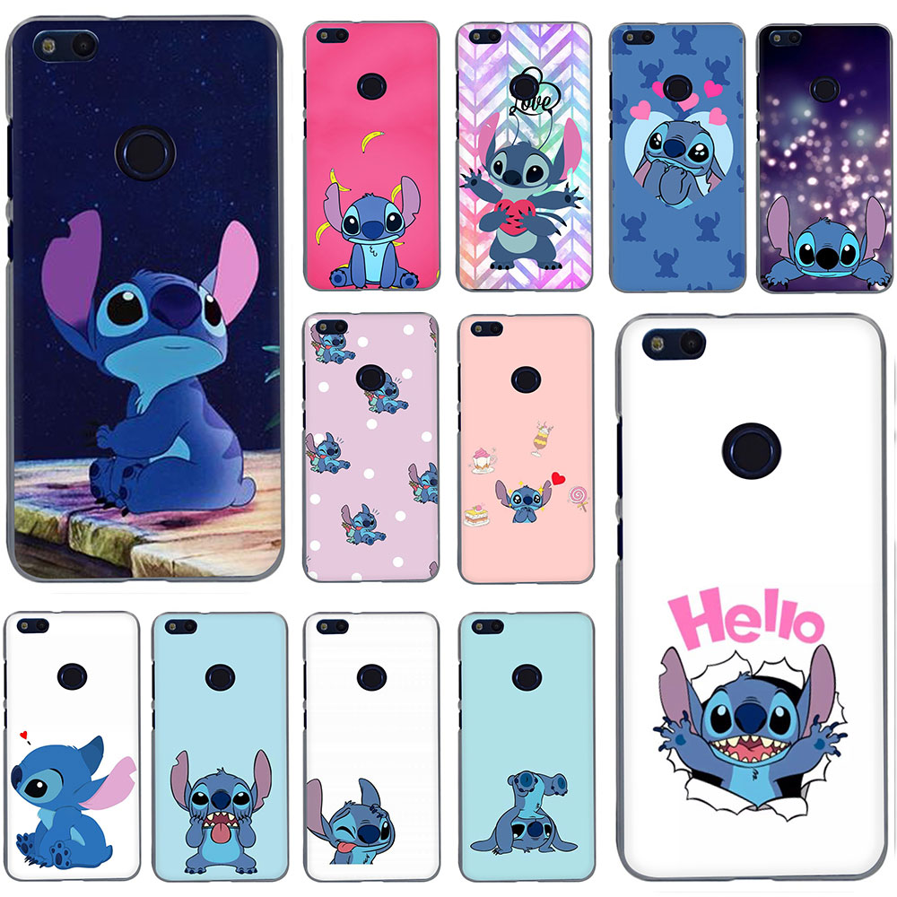 Cute funny Stitch Emoji <font><b>Hard</b></font> Phone <font><b>Case</b></font> for Huawei <font><b>Honor</b></font> 20 Play 6 7 8 A C Pro 7C 5.99in 7 <font><b>9</b></font> 10 X <font><b>Lite</b></font> image