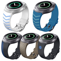 FOHUAS Silicone Colorful Watchband For Samsung Gear S2 Wrist Luxury Brand New Fashion Sports Silicone Bracelet