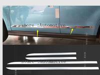 Chrome Body door Side Molding cover trim for Mitsubishi Asx RVR Sport 2010 2011 2012 2013 2014 2015
