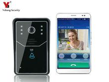 Yobang Security WiFi Doorbell Door Bell Wireless IP Intercom Interfone Smart Video Phone Unlock Alarm By