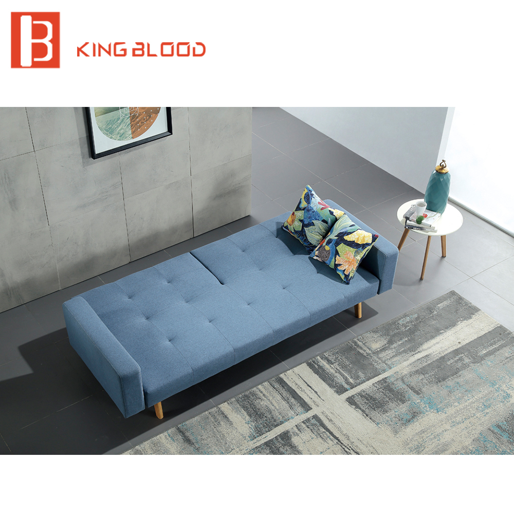 Cheap wholesale price furniture modern fabric hotel sofa cum bed