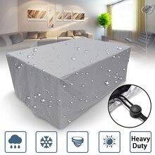 32 размера водонепроницаемый открытый патио садовая мебель чехлы Дождь Снег чехлы на стулья для дивана стол стул Пыленепроницаемый Чехол