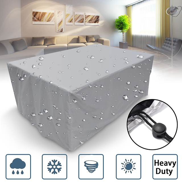 16Sizes Waterproof Outdoor Patio Garden Furniture Covers Rain Snow Chair covers for Sofa Table Chair Dust Proof Cover