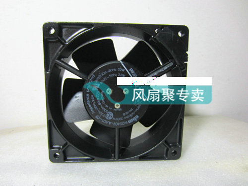 Original German ebmpapst W2S107-AA01-01 12CM 120*120*38MM 220V AC cooling fan Full Metal original ebmpapst w2g107 ad03 13 12cm 12038 24v3 3w full metal cooling fan