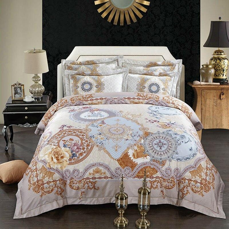 Amiable Mandala Bedding Set Egyptian Bedspread Bohemian Duvet Cover Bedlinen Queen King Size 4pcs To Enjoy High Reputation At Home And Abroad Music Memorabilia Entertainment Memorabilia