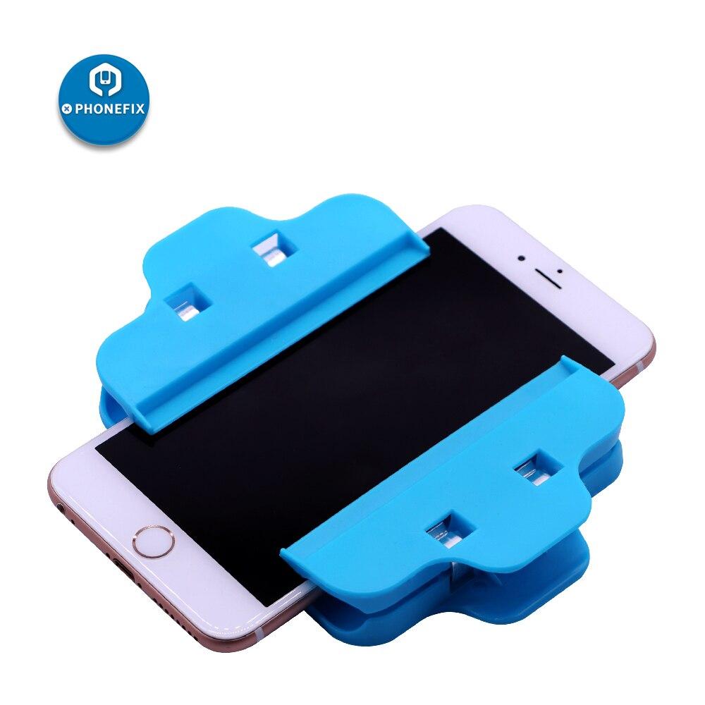 PHONEFIX Plastic Clip Fixture Phone Screen Fastening Clamp Repair Tool For IPhone Repair Cell Phone Repair Screen Fasten Clip