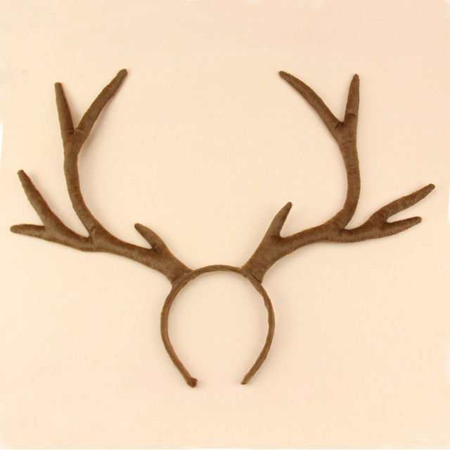 Easter Day wapiti hair clasp adult and children unisex cosplay cartoon tire antlers reindeer cospaly decoration role playing