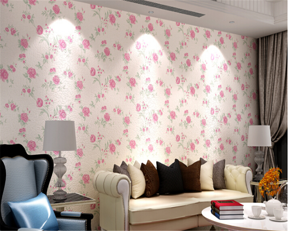 Decorative Wall Paper compare prices on korean wallpaper- online shopping/buy low price