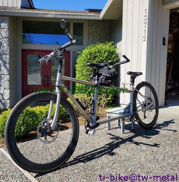 Bike-Frame Tandem Titanium Custom Cheap Chinese