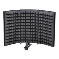 Fashion Folding Studio Microphone Isolation Shield Recording Sound Absorber Foam Panel